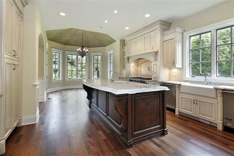 white kitchen wood island lovely white kitchens with stained wood islands and wood 1425