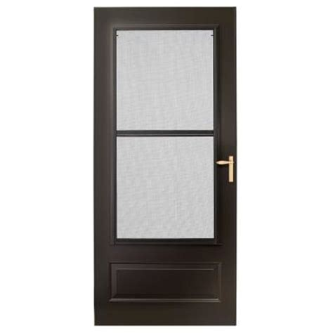 emco 400 series door emco 36 in x 80 in 300 series bronze track