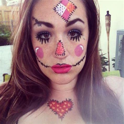 Scarecrow Makeup  Halloween )  Pinterest  Makeup, Scarecrows And Scarecrow Makeup