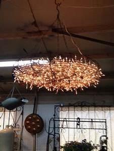 DIY chandelier fan on Pinterest