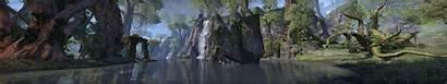 Forest Elder Scrolls Monitors Ruin Lake Water