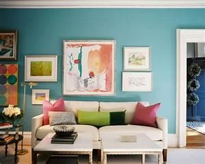 Wandfarbe Für Wohnzimmer : wandfarbe t rkis 42 tolle bilder ~ One.caynefoto.club Haus und Dekorationen