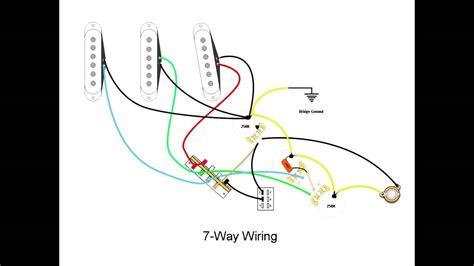 7 way stratocaster wiring mod doovi