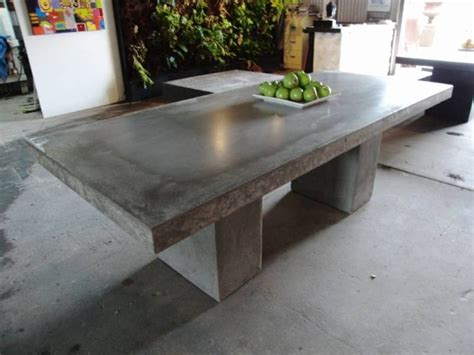concrete patio furniture 17 best images about concrete tables on the
