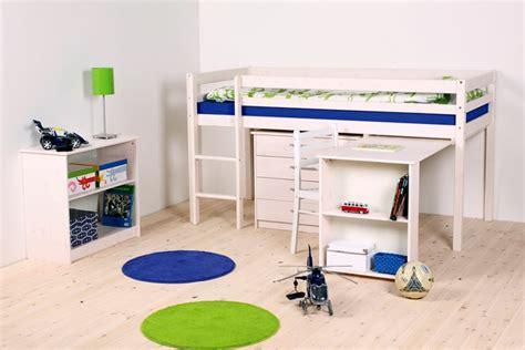 lit hauteur avec bureau lit mezzanine mi hauteur avec bureau my