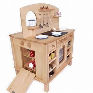 Kinderküche Aus Holz : 4 seitg bespielbare kinder k che holz spielzeug peitz ~ Orissabook.com Haus und Dekorationen