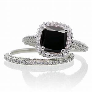 Wedding rings princess cut bridal sets vintage wedding for Cheap bridal wedding ring sets
