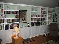 how to build a built in bookshelf Built In Book Cases