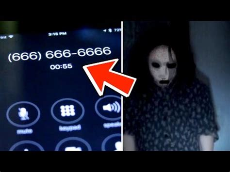 666 666 phone number calling cursed 666 phone number you won t believe what