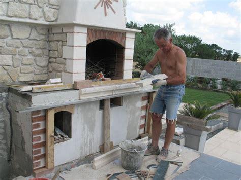 comment construire un barbecue exterieur pinteres