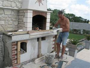 comment construire un barbecue exterieur pinteres With construction d un barbecue exterieur