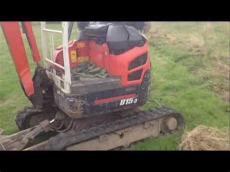 kubota   mini excavator  ton  hp specification  features
