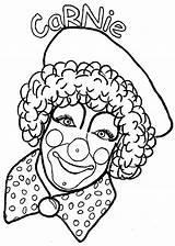 Clowns Picgifs sketch template