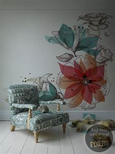 Blooming, Floral, Wall, Murals, That, You, Will, Love, To, Have