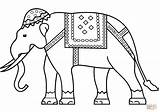 Coloring India Pages Elephant Indian Printable Drawing Flag Nepal Pakistan Puzzle Template Paper Hindu Getdrawings Main sketch template