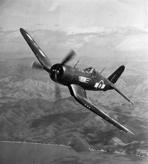 Chance Vought F4u Corsair Aircraft Of The Royal New