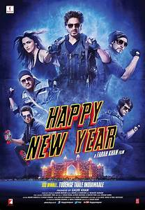 Happy New Year new movie posters: Check out Shah Rukh Khan ...