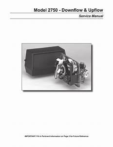 Fleck 2750 Control Valve Manual