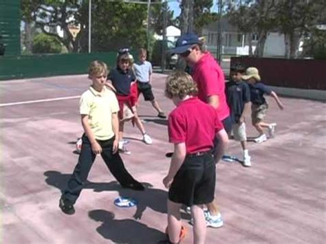 Physical Education (pe) Activity Tunnel Dribble Youtube