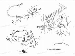 Polaris Atv 2003 Oem Parts Diagram For Electrical