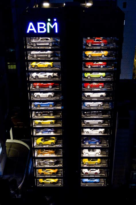 "The World's Largest Luxury Car ""vending Machine"" Senatus"