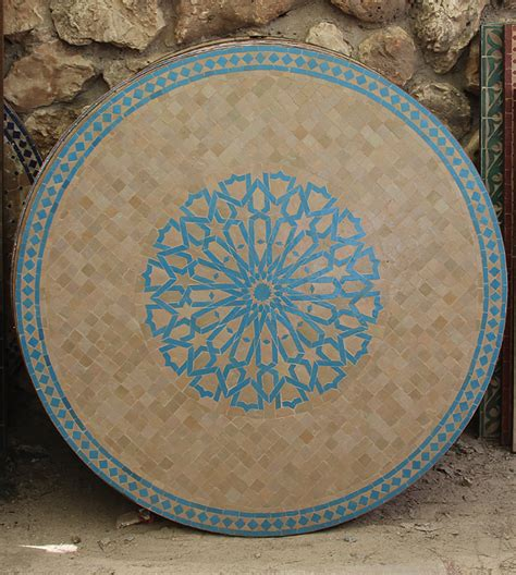 morocco s traditional crafts pottery and zellige tilework image gallery moroccan tile tables