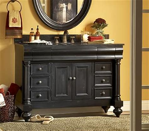 Black Distressed Bathroom Vanity by Homethangs Introduces A Buyer S Guide To Black