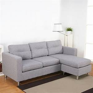 Furniture grey sectional sofa with chaise design ideas for Sectional sofa bed loveseat with chaise