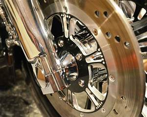 Harley Davidson Touring  U0026quot Bagger U0026quot  Chrome Tapered Front Axle Spacers 2008