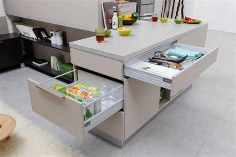 plan de travail cuisine avec rangement rangement tiroirs cuisine cuisine italienne design en 40