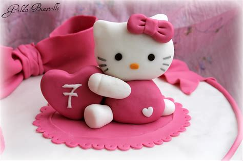 Torta Hello Kitty In Pasta Di Zucchero