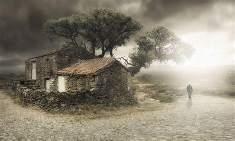 im leaving house   tree man hd wallpaper