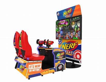 Nerf Arcade Thrills Raw Hasbro Collaborate Betson