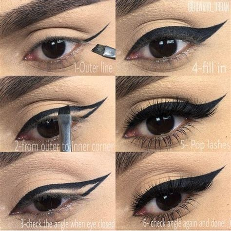 How To Apply Black Double Winged Eyeliner Beauty And Fashion Tutorials