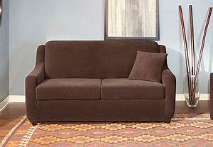 Sure Fit Slipcovers Stretch Pearson 2 Seat Sleeper Sofa