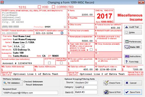 1099 misc software print efile 1099 misc forms