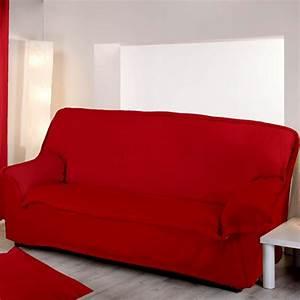 housse de canape rouge With housse de canapé rouge 3 places