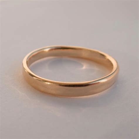 simple gold wedding band 14k simple gold wedding band 14k gold ring unisex