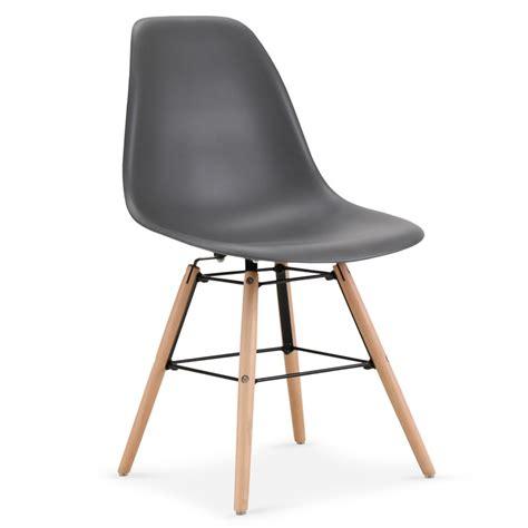 lot chaises pas cher chaises scandinaves elies gris lot de 4 pas cher