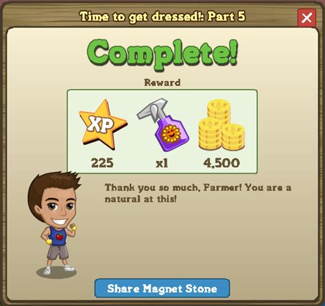 Farmville Time To Get Dressed Quest  Farmville Items