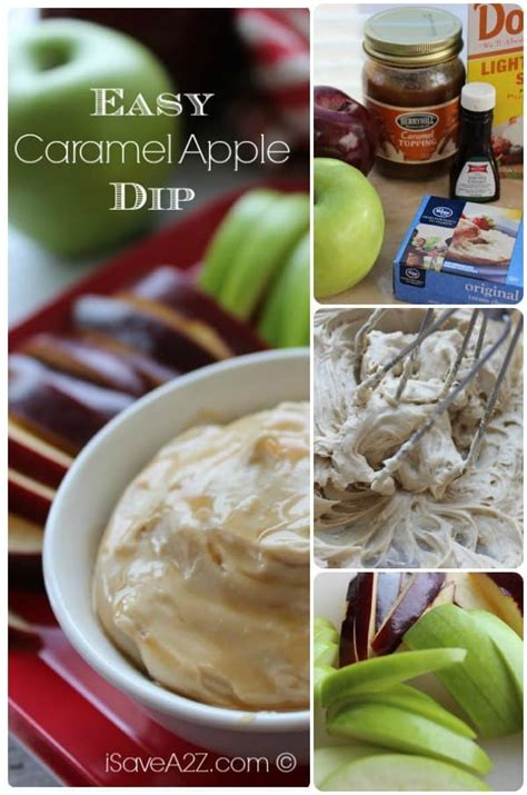 easy caramel apple dip recipe isaveazcom