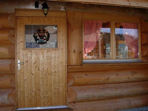 porte de cherret chalets maison bois rond