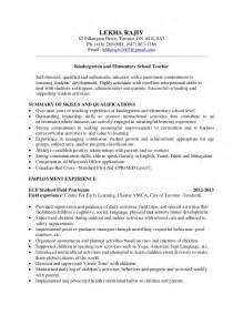 resume pre kindergarten resume format resume format kindergarten