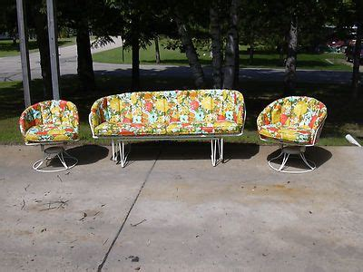 Homecrest Patio Furniture by Mid Century Vintage Homecrest Patio Lawn Furniture Chairs