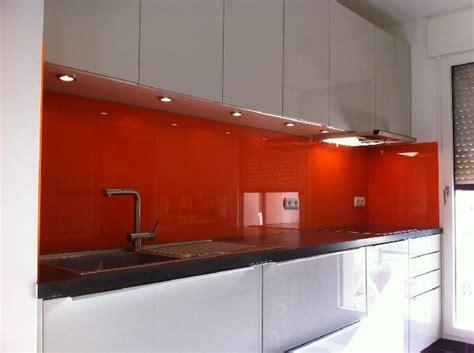 cuisine orange credence cuisine orange solutions pour la décoration