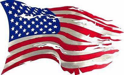 Steel Glory Flag Distressed