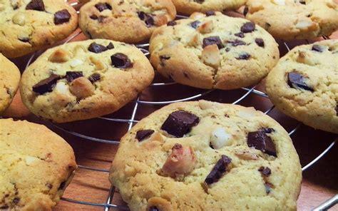recette de cuisine cookies recette cookies chocolat et noix de macadamia économique
