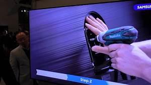 Wandhalterung Samsung Fernseher : q style wandhalterung f r samsungs qled fernseher youtube ~ Markanthonyermac.com Haus und Dekorationen