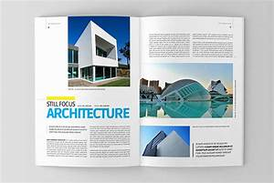 Architectural Design Magazine Free Download Architecture Magazine Template On Behance