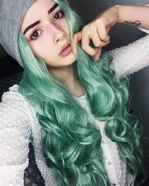 Pastel Green Hairstyles 5 Bright Summer Ideas